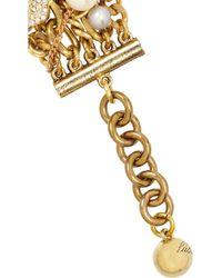 Lulu Frost | Metallic Bord La Mer Multi-chain Bracelet | Lyst