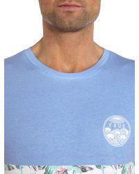 Friend or Faux | Blue Bundoran Regular Fit Graphic T-shirt for Men | Lyst