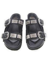 Ash | Black Scream Slide Sandals | Lyst