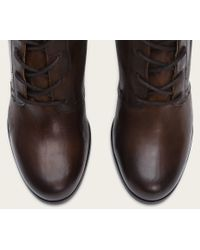 Frye | Brown Parker Tall Lace Up | Lyst
