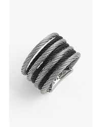 Alor | Black 'classique' Stack Ring | Lyst