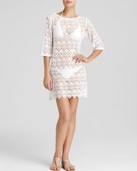 068dd9dee1 J Valdi Lace Swim Cover Up Tunic - Bloomingdale S Exclusive in White ...