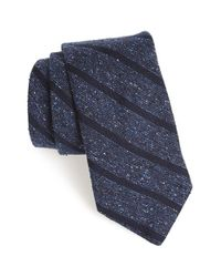 Todd Snyder | Blue Woven Silk & Wool Tie for Men | Lyst