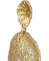 Aurelie Bidermann - Metallic Goldplated Earrings - Lyst