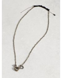 John Varvatos - Multicolor Brass Open Link Necklace for Men - Lyst