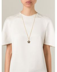 Fendi | Metallic 'Blossom' Necklace | Lyst