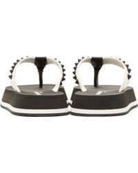 DSquared² - White Studded Sandals for Men - Lyst