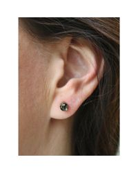 Spectrum | Green Pyrite Studs | Lyst
