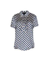 Marc By Marc Jacobs - Blue Shirt - Lyst