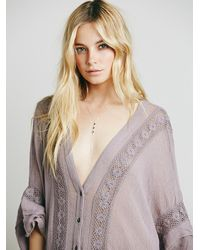 Free People | Gray Endless Summer Womens Boom Boom Kaftan | Lyst