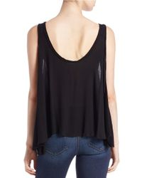 Free People | Black Free Swing Camisole | Lyst