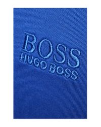 BOSS Green | Blue Polo Shirt: 'paddy 5' In Cotton for Men | Lyst
