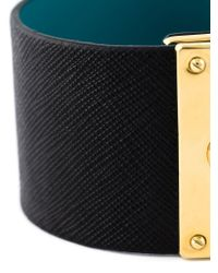 Marc By Marc Jacobs - Black Buckled Cuff - Lyst