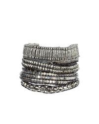 Hipanema | Gray Bracelet - Silver | Lyst