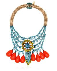 Mawi | Blue Barbarella Collection Necklace | Lyst