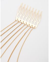 Monki - Metallic Janis Hair Clips - Lyst