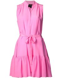 Saloni | Pink Tilly Dress | Lyst