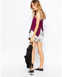 PUMA - Purple Bubble Style Cami Vest - Lyst