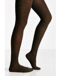 Hansel From Basel - Natural Rib Wool Tight - Lyst