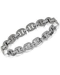 Michael Kors - Metallic Crystal Maritime Link Bracelet - Lyst