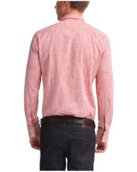 BOSS Orange | Red Regular-fit Cotton Shirt 'cieloebue' for Men | Lyst