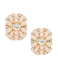 Kate Spade | Pink Turn Heads Statement Studs | Lyst