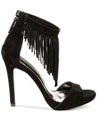 Steven by Steve Madden | Black Rahrah Dress Sandals | Lyst