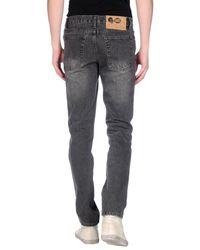 Cheap Monday - Gray Denim Pants for Men - Lyst