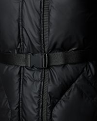 HUNTER | Black Women's Original Rubber-touch Down Jacket | Lyst