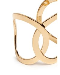 Philippe Audibert - Metallic Cutout Chain Link Cuff - Lyst