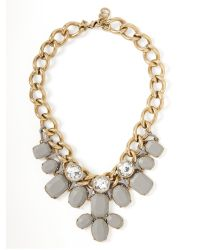 Banana Republic - Metallic Moto Chic Matte Statement Necklace - Lyst