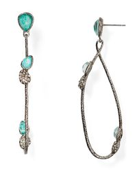 Alexis Bittar | Metallic Vine Link Drop Earrings | Lyst