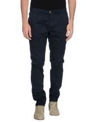 Obvious Basic - Blue Casual Trouser for Men - Lyst