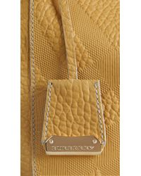 Burberry - Brown The Small Canter In Bonded Leather - Lyst