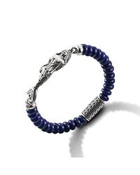 John Hardy | Blue Mermaid Bracelet for Men | Lyst