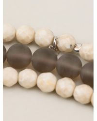 Brunello Cucinelli | Black Beaded Necklace | Lyst
