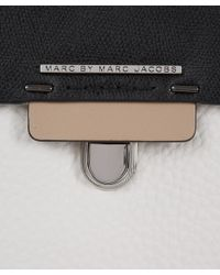 Marc By Marc Jacobs - Black Tricolour Sheltered Island Noha Leather Bag - Lyst