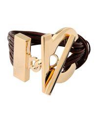 Ferragamo - Brown Bracelet - Lyst