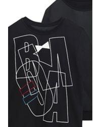 Amishboyish | Boma Black Reversible Sweatshirt | Lyst