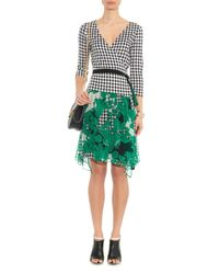 Diane von Furstenberg - Green Riviera Dress - Lyst