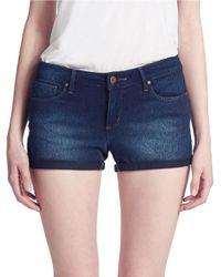 Jessica Simpson - Blue Forever Roll-Cuff Denim Shorts - Lyst