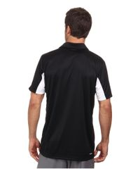 Adidas | Black Tennis Sequencials Galaxy Polo for Men | Lyst