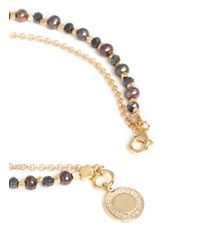 Astley Clarke | Metallic 'Cosmos' 18K Gold Peacock Pearl Spinel Friendship Bracelet - Golden Curiosity | Lyst