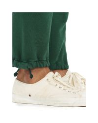 Polo Ralph Lauren - Green Fleece Athletic Pant for Men - Lyst