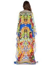 Camilla - Multicolor Printed Maxi Kaftan - Lyst