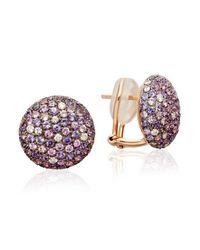 Astley Clarke - Blue Button Stud Sapphire Earrings - Lyst