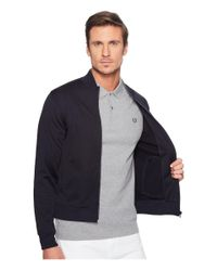 Fred Perry - Blue Bomber Track Jacket for Men - Lyst
