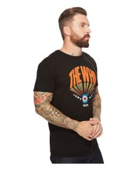 The Original Retro Brand - Black Vintage Cotton Who Tee for Men - Lyst