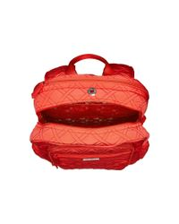 Vera Bradley - Red Campus Tech Backpack - Lyst