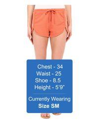 Volcom - Multicolor Lived In Fleece Shorts - Lyst